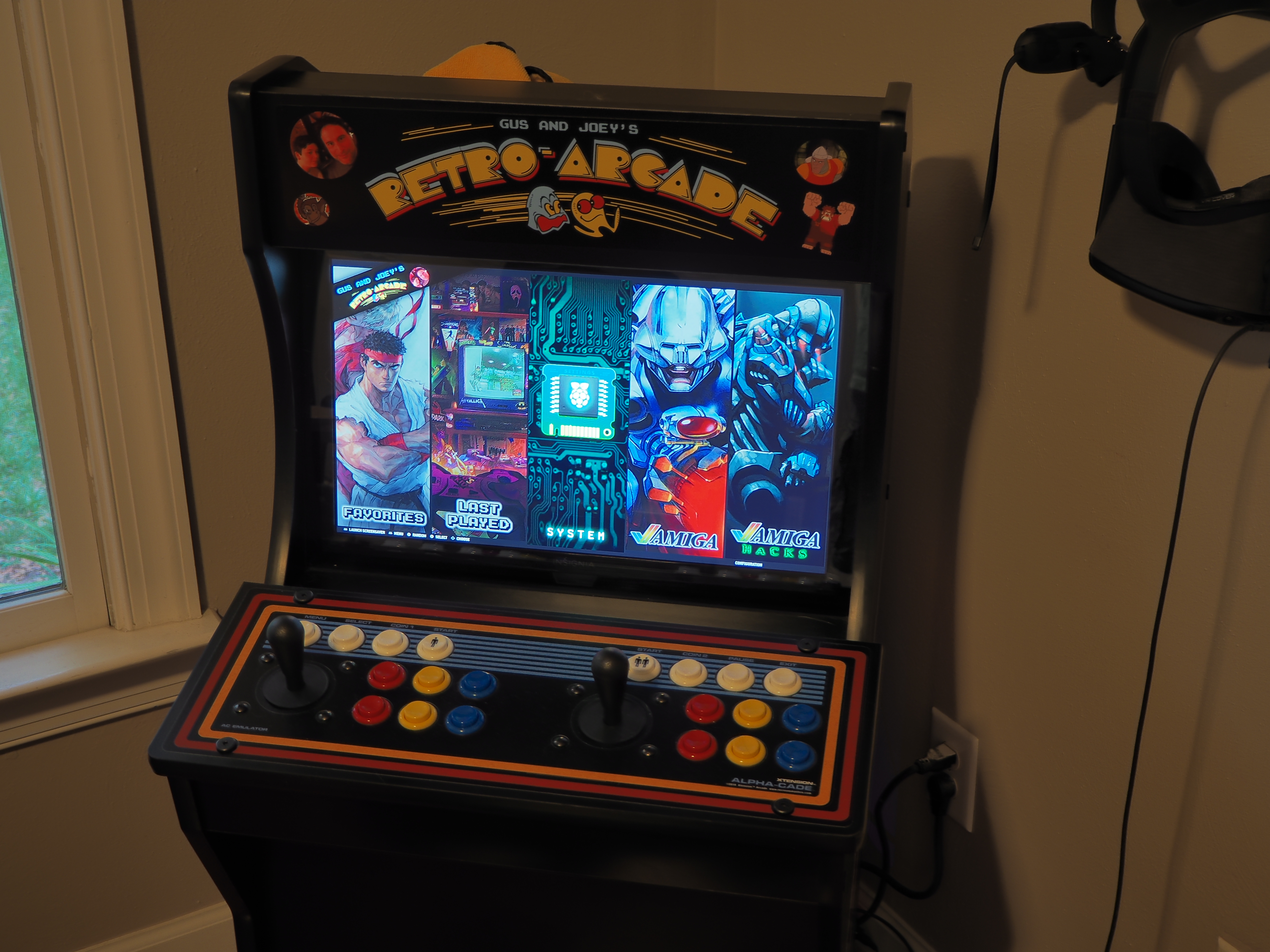 Home Built Custom Arcade Machine